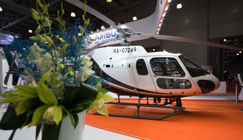 1344 Airbus Helicopters EC130T2 RA-07254   HeliRussia 2014